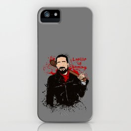 Lucille is coming iPhone Case