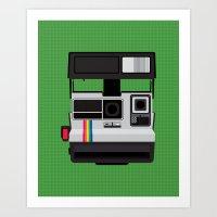 Polaroid Supercolor 635CL Art Print