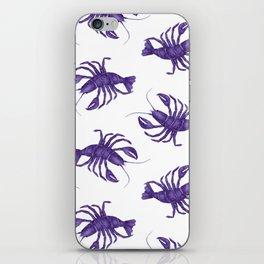Le Lobster Bleu iPhone Skin