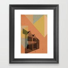 Pape Danforth Branch Framed Art Print