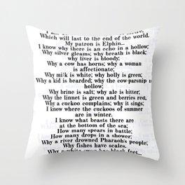 Taliesin Throw Pillow