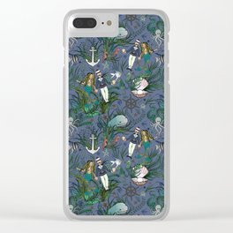 The Siren and the Sailor (La Sirène et le Marin) Clear iPhone Case
