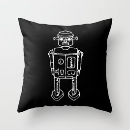 RO BOT Throw Pillow