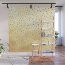 Gold Glitter Party Wall Mural