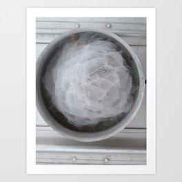 Pot of Ice Art Print