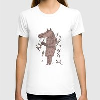 badger T-shirts featuring badger by Jon Boam