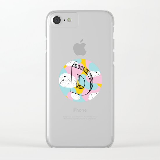 D. Clear iPhone Case