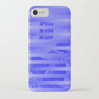 glitch iPhone & iPod Cases featuring Glitch by Claire Balderston