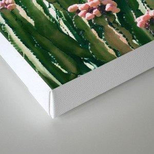 Blush Cactus #society6 #decor #buyart Canvas Print
