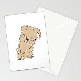 Grumpy Pug Stationery Cards
