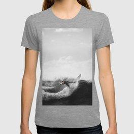 surf santa - power slide T-shirt