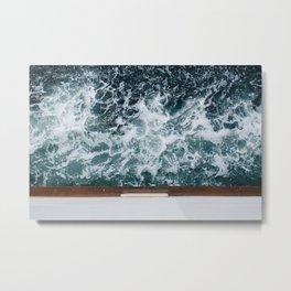 I'm On A Boat Metal Print