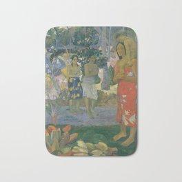 Paul Gauguin - Ia Orana Maria (Hail Mary) (1891) Bath Mat
