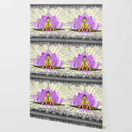 Chakras With Lotus Wallpaper