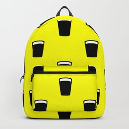 pint of beer pattern Backpack
