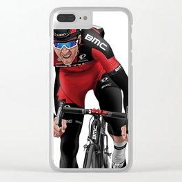 Greg Van Avermaet 1 Clear iPhone Case