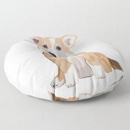 Corgi Waiting Floor Pillow