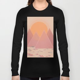 The quiet mountains Long Sleeve T-shirt