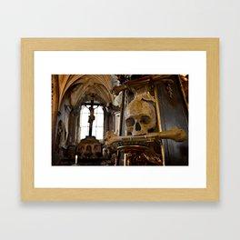 Bone Church Framed Art Print