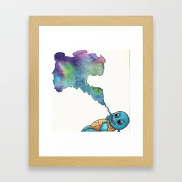 Squir-chill Framed Art Print