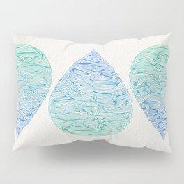Ombré Droplet Pillow Sham