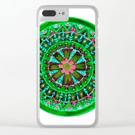 Into the Forest Mandala Clear iPhone Case