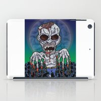 kevin russ iPad Cases featuring Full Moon Kevin by Visible Riddles