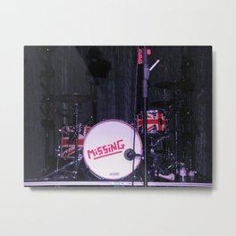 Matt's Drums Metal Print
