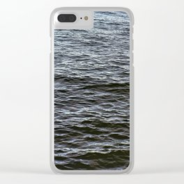 Water Ripples Clear iPhone Case