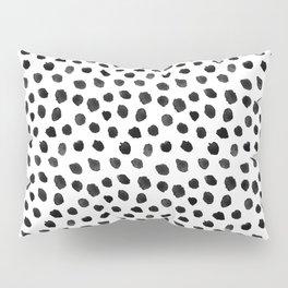 Black & White Dalmatian Pattern Pillow Sham