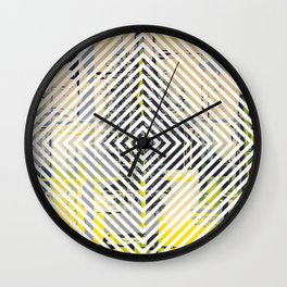 Sunday Morning - psychedelic graphic Wall Clock