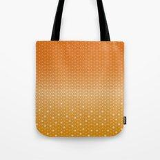 Hexagon in Orange Tote Bag