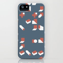 Abstract Geometric Artwork 77 iPhone Case