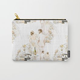 Bride & Groom - Blonde Hair Option Carry-All Pouch