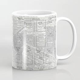 Brand Pattern Coffee Mug