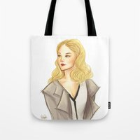 moriarty Tote Bags featuring elementary: moriarty by roanne Q