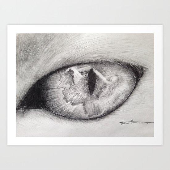 Cats Eye Art Print