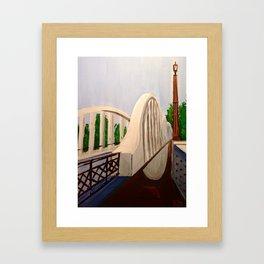 Fairfield Bridge, NZ Framed Art Print
