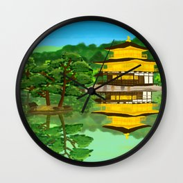 The Golden Temple Wall Clock