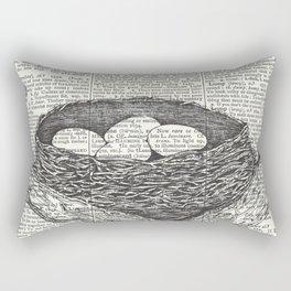 Lullaby of Birdland Rectangular Pillow