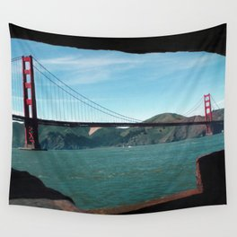 Golden Gate Bridge Daytime Wall Tapestry
