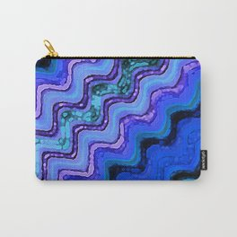 Blue Tranquil Waves Carry-All Pouch