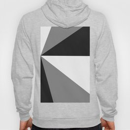 Retro Pop Art Beams - Black White Grey Hoody