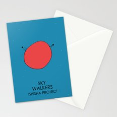 SKY WALKERS by ISHISHA PROJECT Stationery Cards