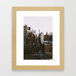FDR Tramway - NYC Framed Art Print