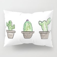 3 types of cactus Pillow Sham