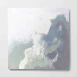 Midday Clouds Metal Print