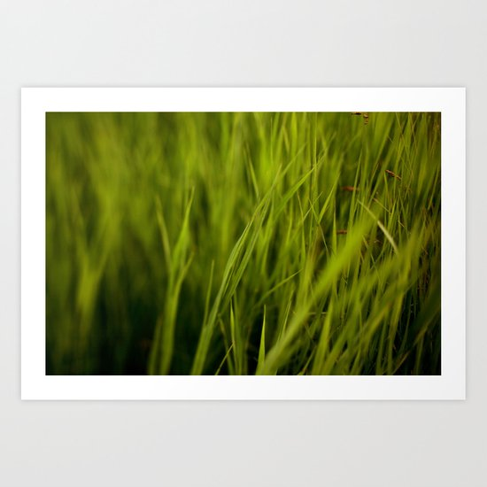 Greener #2 Art Print