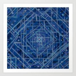 Blue Room Art Print