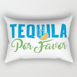 Tequila Por Favor Rectangular Pillow